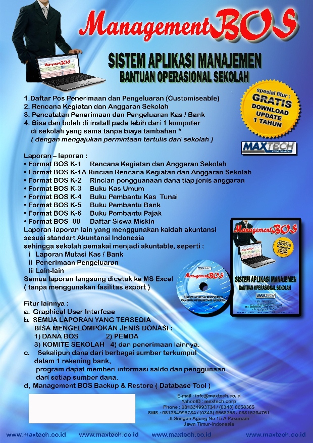 Brosur Software Management BOS